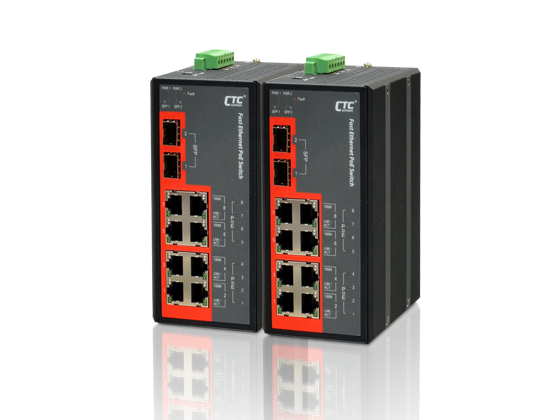 IFS-802GS-8PH Industrial PoE switch