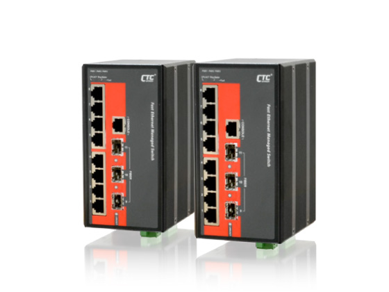 8x 10/100Base–TX+ 3x 100/1000Base–X SFP Managed Switch