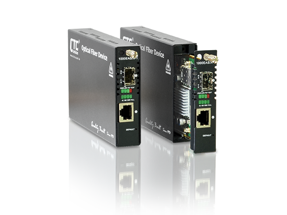 FRM220-1000EAS/X-1 OAM/IP Managed SFP GbE Media Converter