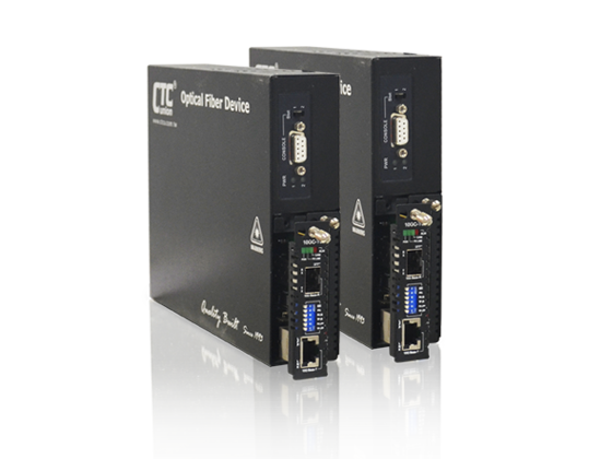 10G Base-T to 10G Base-R SFP+ Media Converter