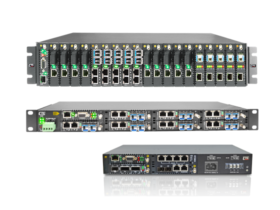 In-Band Managed Multi-Service Platform-FRM220-CH20/08/04A