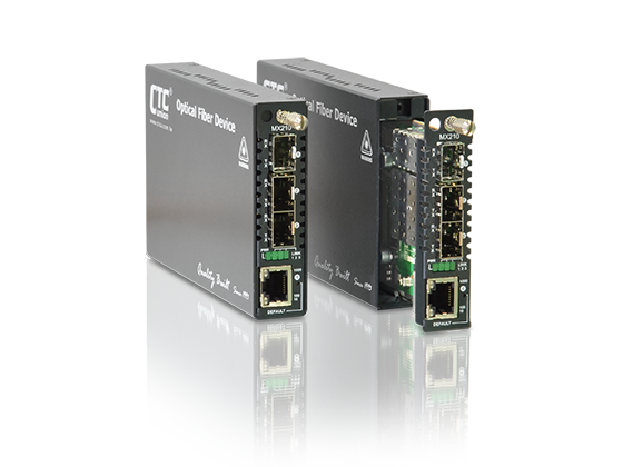 Ethernet Switch/NID - 2x GbE Muxponder