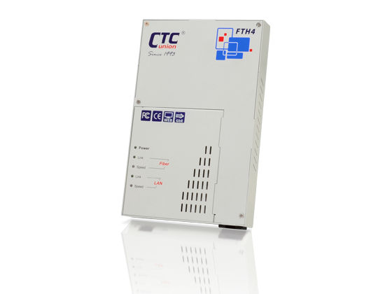 CPE Switches & Converter - Web Smart GbE OAM/IP Managed Converter with Cable Tray