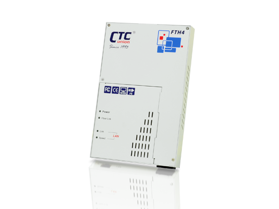 CPE Switches & Converter - Web Smart FE OAM/IP Managed Converter with Cable Tray