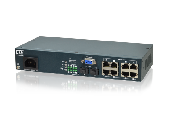 L2+ Carrier Ethernet Switch - 8-Port 10/100/1000Base-T + 2 Port 100/1000Base-X SFP L2 Managed Switch
