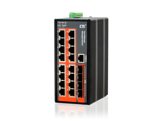 IFS-1604GSM SFP Industrial Ethernet Switch