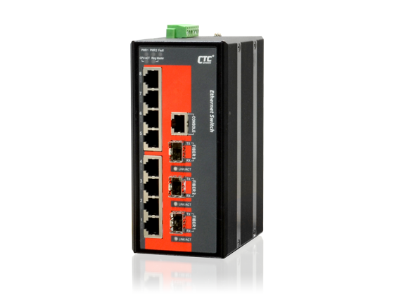 IFS-803GSM SFP Industrial Ethernet Switch