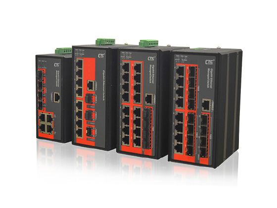4, 8 or 16x 10/100/1000Base-T+ 4, 3 or 12x 100/1000Base-X SFP