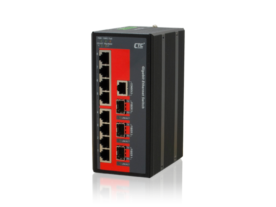 IGS-803SM SFP Industrial Ethernet Switch