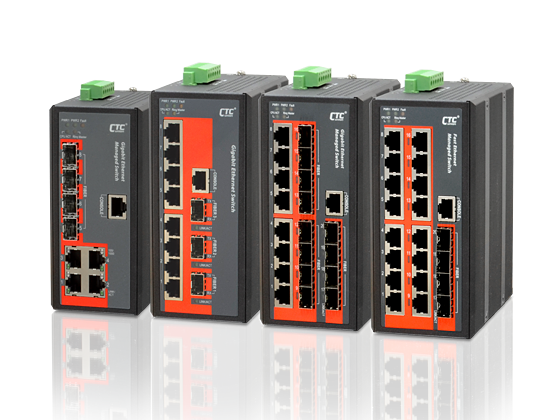 Industrial Managed Ethernet Switch - 8x 10/100/1000Base-T+ 4x 100/1000Base-X SFP