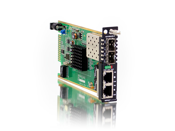 Ethernet Switch Card: FRM220-10/100AS-2