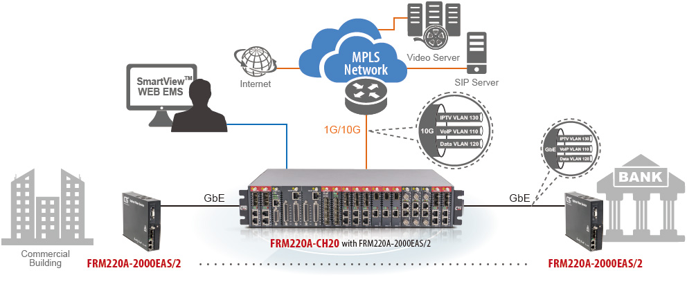 Enabling VLAN & QoS Prioritized Multiple Play Services