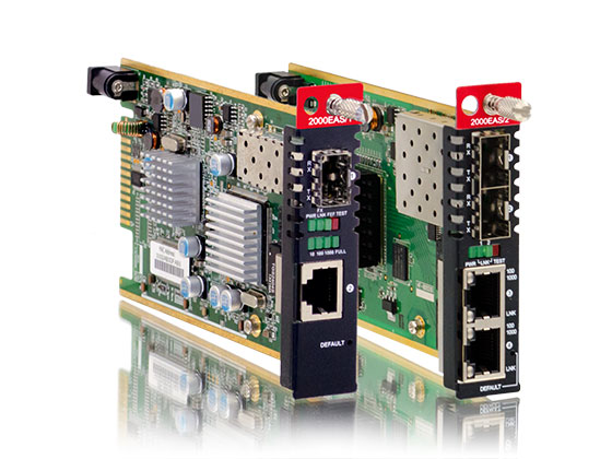 In-Band OAM/IP GbE Managed Switch: FRM220A-2000EAS/2 & FRM220A-2000EAS/1