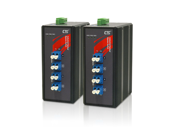 Industrial Fiber Bypass Switch: IBP-202