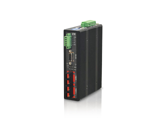 Industrial Serial to Fiber Media Converter: IFC-FDC