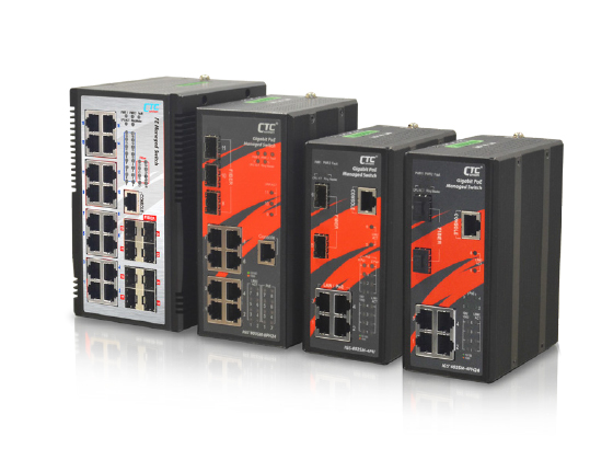 Industrial Managed FE PoE Switch