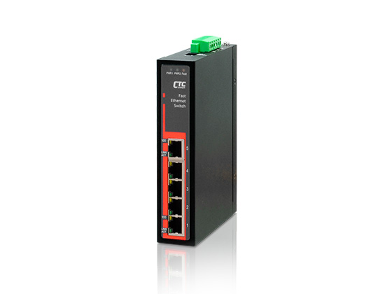 Industrial Unmanaged Fast Ethernet Switch: IFS-500