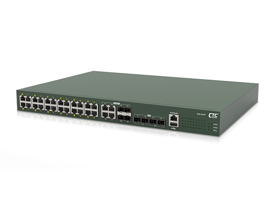 Industrial Layer 3 GbE Managed Switch: IXR-3224T, IXR-3212S, IXR-3224S