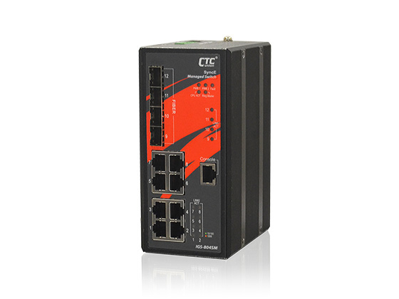 Industrial Managed GbE/2.5G Switch:IGS-804SM