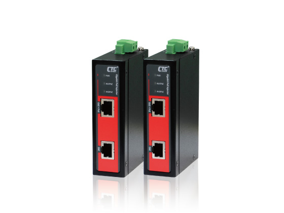 Gigabit Ethernet IEEE 802.3af/at High Power Injector