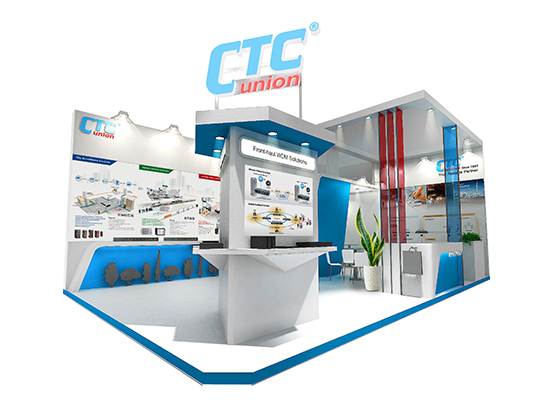 Computex Taipei 2019 - Booth of CTC Union