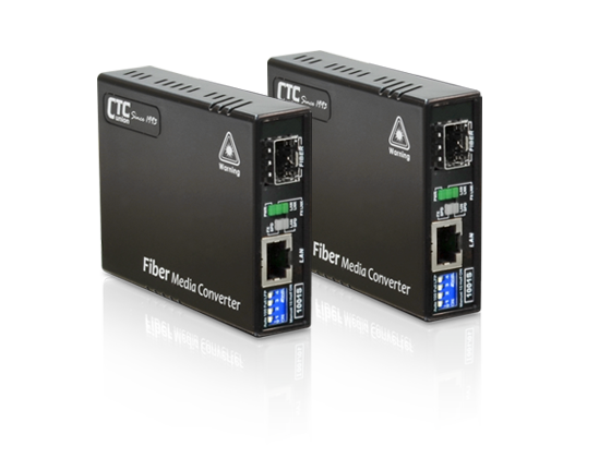 10/100/1000Base-T to 100/1000Base-X SFP Media Converter: FMC-1001S