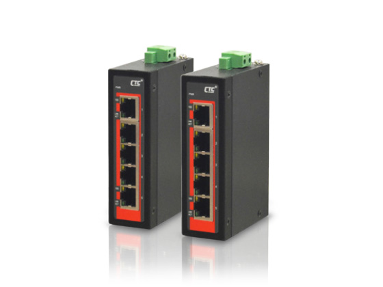 5x 10/100Base-TX Fast Ethernet Switch (Compact)