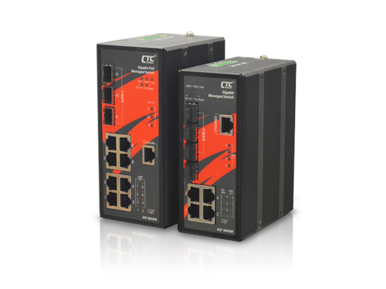 Industrial Managed GbE Switch: IGS⁺803SM, IGS⁺404SM